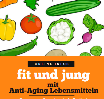 Fit und jung mit Anti-Aging Lebensmitteln